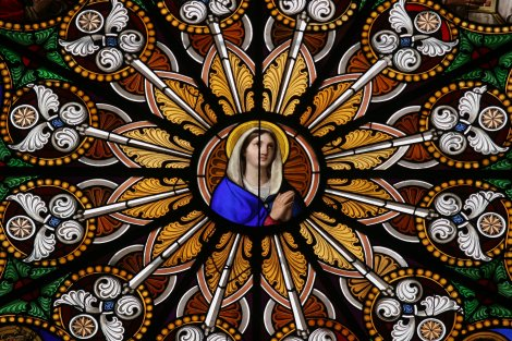 Mary Stained Glass